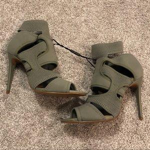 NWOT cut out heels